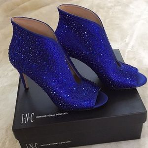 NWT I.N.C International Concepts Ankle Boots